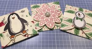 Stampin' Up Pop-Up Mini Envelope Cards