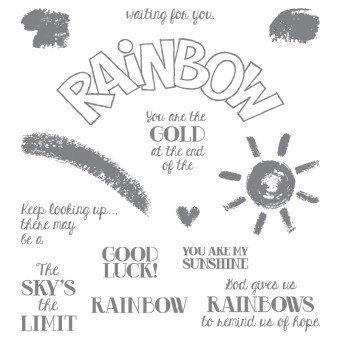 Over The Rainbow Stamp Set